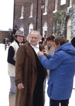 Filming of 'A Christmas Carol' 1984